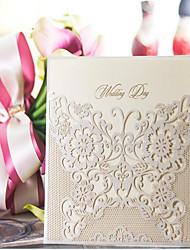 Nepřizpůsobeno Ploché přání Svatební Pozvánky Ukázka pozvánky-10 Kusů v sadě Umělecký papír
