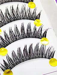 řasy Řasy Řasy plné Eyes tlusté Dodávající na objemu Ručně vyrobeno Vlákno Black Band 0.10mm 12mm