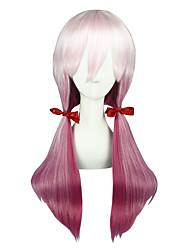 Cosplay Paruky Zdarma! Aika S. Granzchesta Fialová / Růžová Střední Anime Cosplay Paruky 60 CM Horkuvzdorné vlákno Unisex