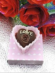 촛불 부탁-1 조각 / 세트 캔들 홀더 비 개인화 핑크