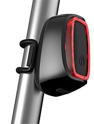 Zadní světlo na kolo / bezpečnostní odrazky LED LED Cyklistika Voděodolný / Dobíjecí / Senzor / Kompaktní velikost USB Lumenů USBMěnící