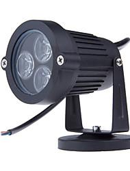 3LEDs levou lâmpadas de gramado 3w iluminação exterior IP65 à prova d'água estaleiro muro do jardim levou lagoa caminho luz do ponto de