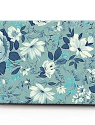 caixa do computador flor de jasmim macbook para macbook air11 / 13 pro13 / 15 pro com retina13 / 15 macbook12