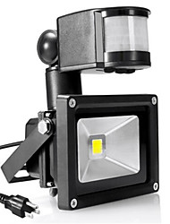 10w 900-1100lm AC85-265V Branco / frio quente levou lâmpada de indução corpo humano
