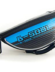 תיק אופנייםתיקים לכידון האופניים עמיד למים / פס מחזיר אור / רב תכליתי / מסך מגע / טלפון/Iphone תיק אופניים תיק אופניים רכיבה על אופניים