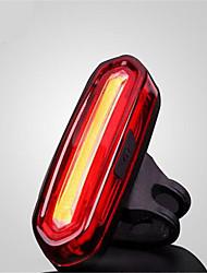 Zadní světlo na kolo / bezpečnostní odrazky LED LED Cyklistika Voděodolný / Malé / protiskluzová USB MAX:120 Lumenů USB Měnící barvy