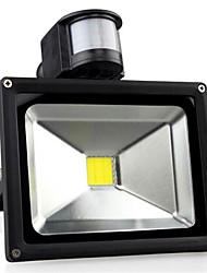 30W 3300lm AC85-265V indução corpo humano alta potência levou lâmpada de projeção