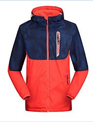 טיולי טבע מעילי סקי/סנובורד / מעילי רוח / ז'קט עם שכבה חיצונית רכה / צמרות לגבריםעמיד למים / נושם / שמור על חום הגוף / ייבוש מהיר / עמיד