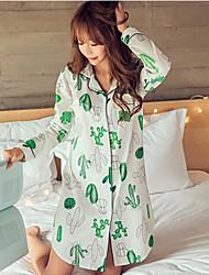 Ženy Bavlna Pyžama