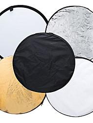 80 cm 5 v 1 32 světle mulit skládací kotouč reflektor přenosné světlo fotografování fotografie kolo reflektor pro studio