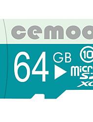 CEMOO 64GB TF cartão Micro SD cartão de memória class10