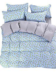 Novinka Povlečení 4 kusy Polyester Vzor Reaktivní barviva Polyester Twin / Full / Queen / King4 ks (1 x povlak na přikrývku, 1 x