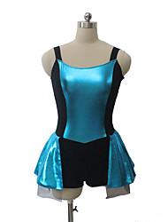 ג'אז שמלות בגדי ריקוד נשים / בגדי ריקוד ילדים ביצועים כותנה / לייקרה חלק 1 בלי שרוולים Leotard