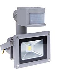 10w sensor de movimento levou luz de inundação com pir 800LM super brilhante luz de segurança ao ar livre 85v-265v inundação impermeável