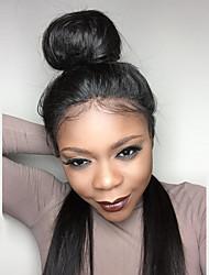 8a dlouhé rovné Glueless krajka přední lidský vlas paruky brazilský panenský vlasy s dětskou vlasy pro ženy