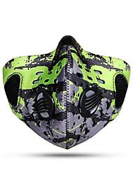 ספורטיבי אופנייים/רכיבת אופניים מסכת פנים נושם / עמיד / עיצוב אנטומי / עמיד לאבק SBR / שבכהספורט פנאי / רכיבה על אופניים/אופנייים / ריצה