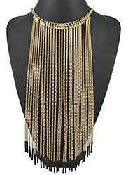 Dames Kettingen Legering Uniek ontwerp Kwasten Vintage PERSGepersonaliseerd Euramerican Opvallende sieraden Sieraden VoorBruiloft Feest