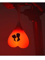 Světla na kolo / Zadní světlo na kolo / bezpečnostní světla LED Cyklistika Voděodolný / Kompaktní velikost knoflíková baterie Lumenů