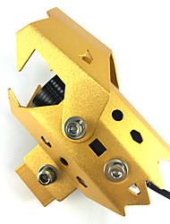 1ks zlatý bytový projekt čočka světlometu žárovka 30 wattů vedl automobilový řidičský světla 30 wattů vedl motoru světla