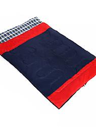 שק שינה שק שינה מלבני יחיד 10 כותנה חלולה 400גרם 180X30 צעידה / קמפינג / לטייל / חוץ / בתוך הביתעמיד למים / נשימה / מוגן מגשם / עמיד ברוח