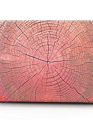 caixa do computador vermelha de madeira padrão de macbook para macbook air11 / 13 pro13 / 15 pro com retina13 / 15 macbook12