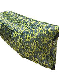 משטח מתנפח שק שינה למסיבות פיג'מות(לתוך הבית) יחיד 10 כותנה חלולה 1000 ' 180X30 צעידה / קמפינג / לטייל / חוץ / בתוך הביתמוגן מגשם / מתקפל