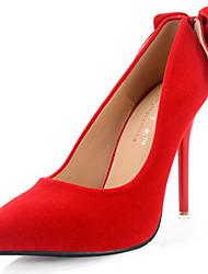 נשים-עקבים-סוויד-נוחות-שחור אדום-חתונה-עקב סטילטו