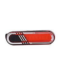 bezpečnostní světla LED Cyklistika Dobíjecí Batterie lithium Lumenů USB Červená Cyklistika / Outdoor