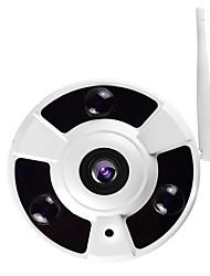 Jooan® q1 1.3mp 360 graus 960p fisheye panorâmico sem fio câmera ip gravação de áudio built-in cartão de 16GB tf