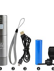 LED svítilny / Svítilny do ruky / Přední světlo na kolo LED Cyklistika Stmívatelná / Voděodolný / Dobíjecí / Snadnépřenášení 18650 200