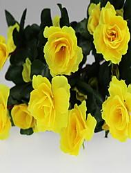 1 1 ענף פלסטיק / Others Others / אזליה פרחים לשולחן פרחים מלאכותיים