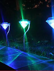 אורות יהלום שמש צבעוניים