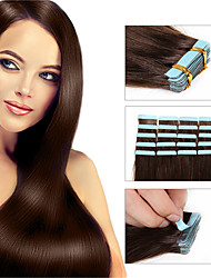 8A Tape Human Remy Hair Extension 30g/40g/50g Includes 20pcs Per Pack For Fashion Women Human Hair