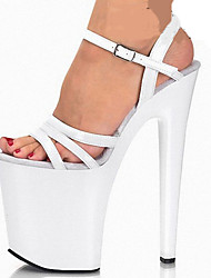 Women's Sandals Spring Summer Comfort Novelty PU Wedding Party & Evening Dress Stiletto Heel Buckle Walking