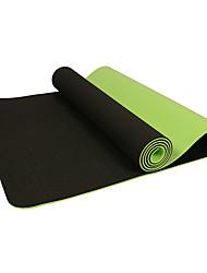 Mats Yoga Eco-friendly Inodore Molto spesso 6 mm Blu Verde Viola Other