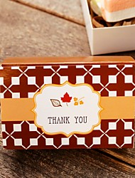 12 Stück / Set Geschenke Halter-Quader KartonpapierGeschenkboxen Geschenktaschen Süßigkeiten Gläser und Flaschen Kuchenverpackung und