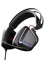 xiberia s25 auricular de diadema estéreo juego llevó la luz resplandeciente auriculares PC Gamer Super Bass auriculares de vibración 7.1