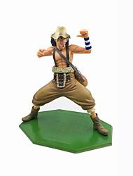 Anime Action Figurer Inspirert av One Piece Usopp PVC 24 CM Modell Leker Dukke