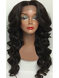 글루리스 처녀 머리 전체 레이스 인간의 머리 가발 아기 머리를 가진 흑인 여성의 몸 웨이브 가발에 대한 웨이브
