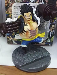 애니메이션 액션 피규어 에서 영감을 받다 One Piece Monkey D. Luffy PVC 10 CM 모델 완구 인형 장난감