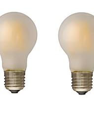 B22 E26/E27 LED-hehkulamput G60 4 COB 400 lm Lämmin valkoinen Himmennettävä AC 220-240 AC 110-130 V 2 kpl