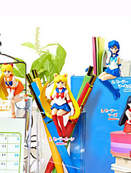 Anime Action Figures Inspired by Sailor Moon Sailor Moon PVC 6 CM Model Toys Doll Toy 1set