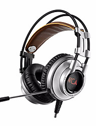 xiberia k9u 7.1 surround stereo usb gaming koptelefoon met microfoon pc gamer geleid adem licht bandhead spel headset voor de lol cf