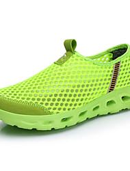 יוניסקס-נעליים ללא שרוכים-טול-נוחות סוליות מוארות נעלי זוגשטח יומיומי ספורט-עקב שטוח