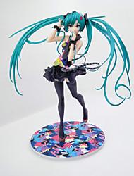 Аниме Фигурки Вдохновлен Косплей Hatsune Miku PVC 21 См Модель игрушки игрушки куклы