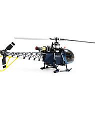 Walkera Helicóptero com CR 6 Canais 3 Eixos - Azul Plástico