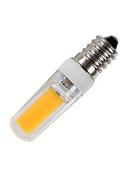 3W Dimmable E14 Standard LED Crystal Bulb Lampada 2609 COB for Chandelier 400Lm Warm / Cool White AC 220-240V (1 piece)