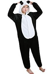 Kigurumi פיג'מות פנדה /סרבל תינוקותבגד גוף פסטיבל/חג הלבשת בעלי חיים Halloween לבן פלנל תחפושות קוספליי ל יוניסקס נקבה זכרהאלווין (ליל כל
