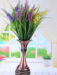 1 Ramo Plástico Lavanda Flor de Mesa Flores artificiais 20*20*52