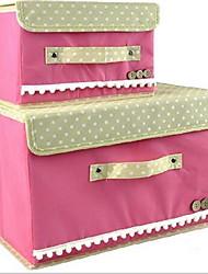 Skladovací krabice Skladovací jednotky Skladovací koše Textil svlastnost je Open , Pro Šperky Spodní prádlo Látka